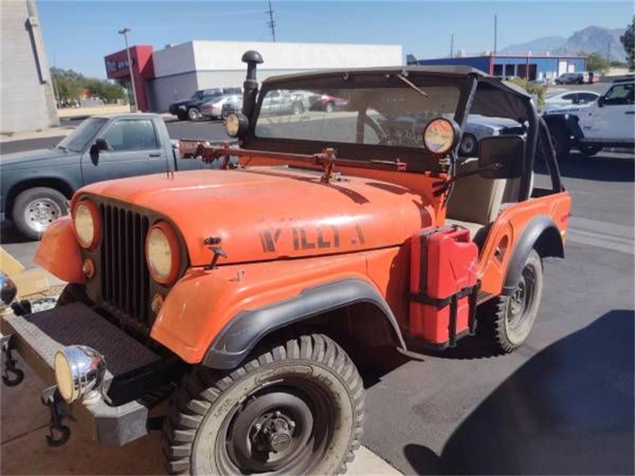 1955 Jeep CJ5 (CC-1415823) for sale in Cadillac, Michigan