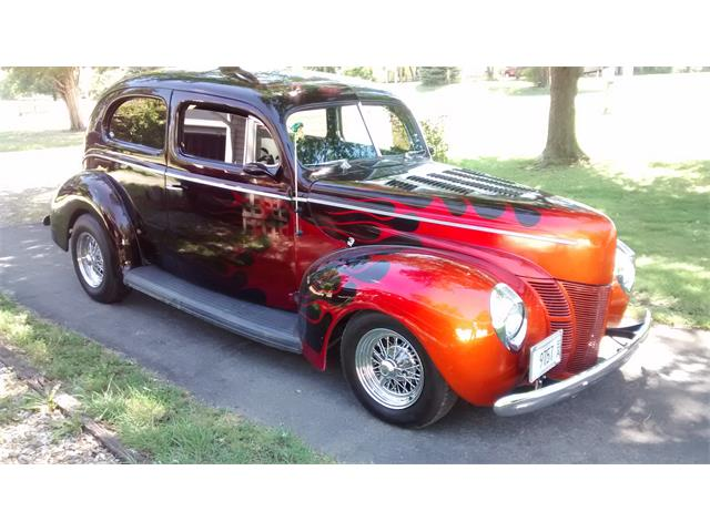 1940 Ford 2-Dr Sedan (CC-1415938) for sale in Pekin, Illinois