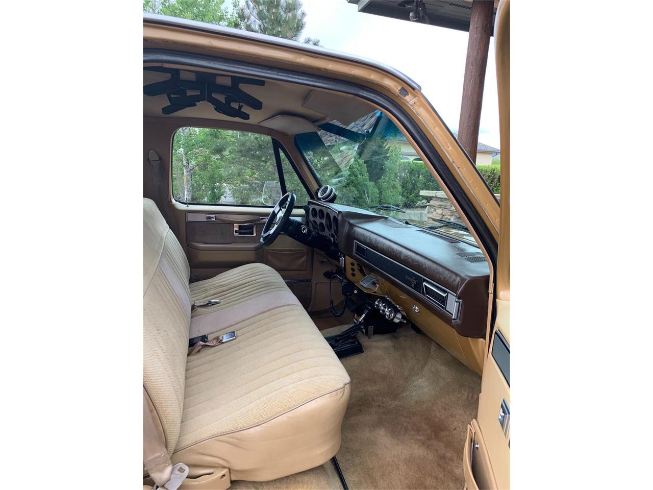 1985 Chevrolet K-20 (CC-1415948) for sale in Golden, Colorado