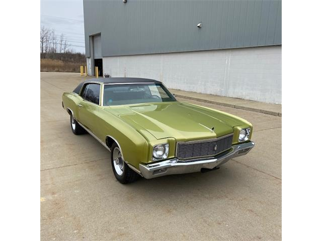 1971 Chevrolet Monte Carlo (CC-1415965) for sale in Macomb, Michigan