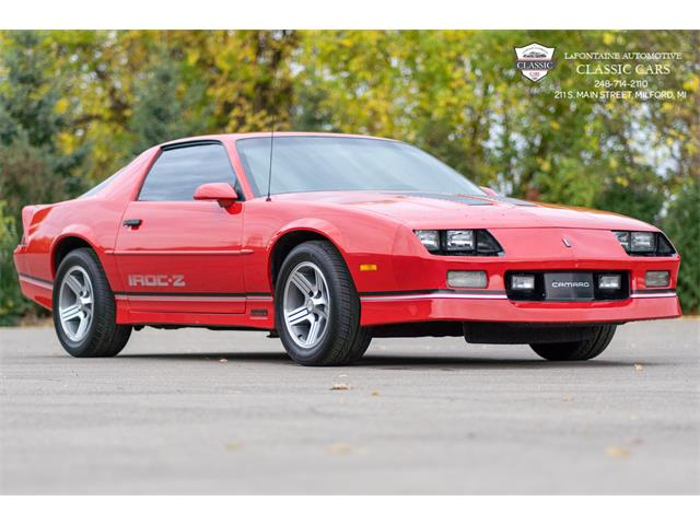 1988 Chevrolet Camaro IROC Z28 (CC-1415967) for sale in Milford, Michigan
