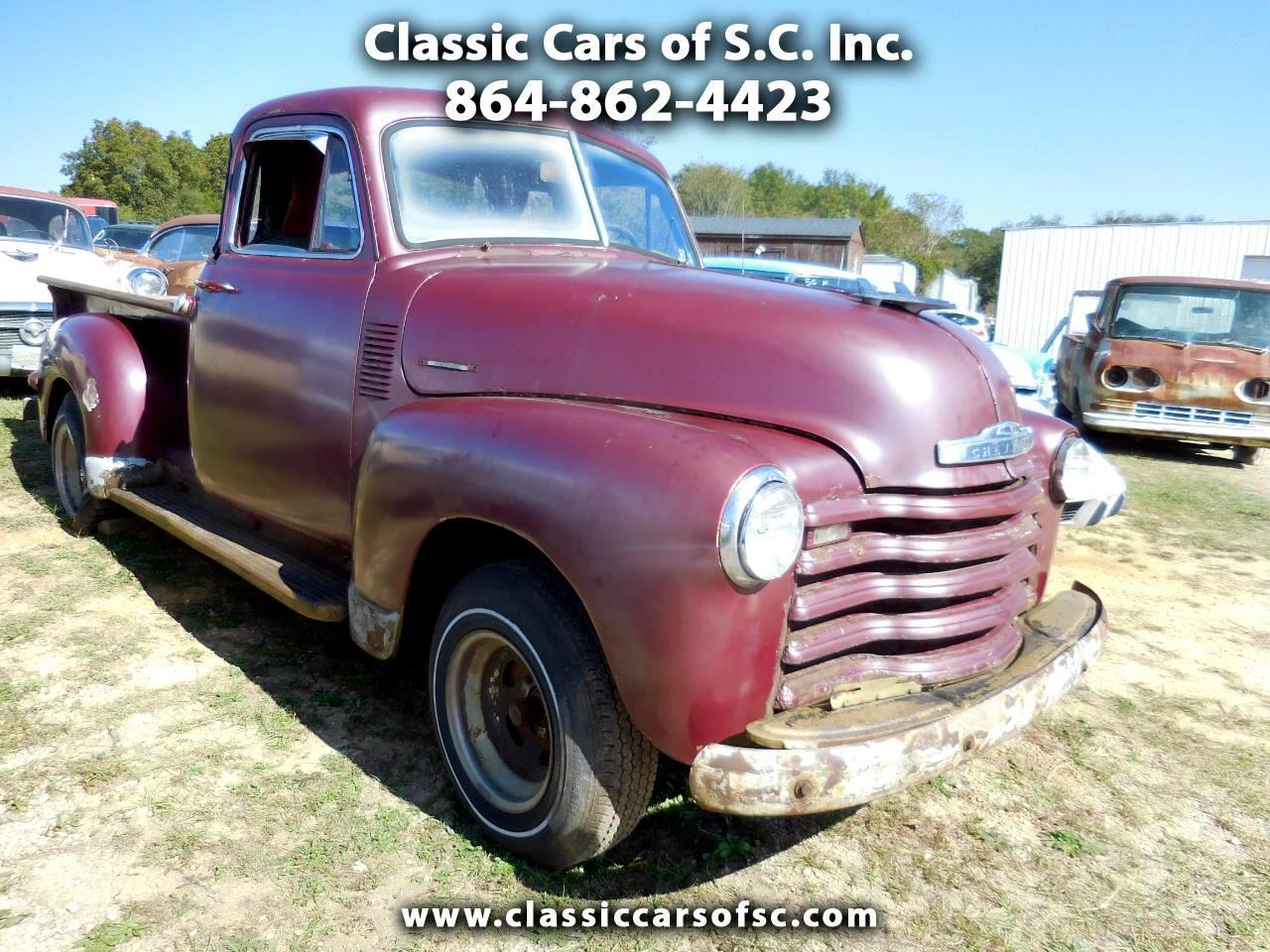 1953 Chevrolet Pickup (CC-1416105) for sale in Gray Court, South Carolina