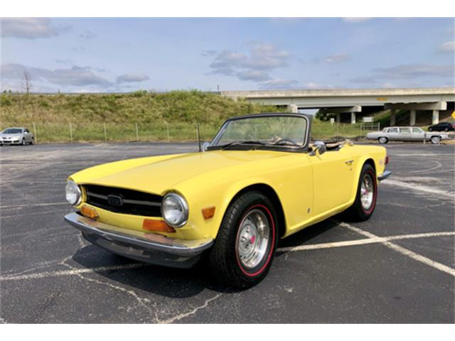 1973 Triumph TR6 (CC-1416174) for sale in Simpsonville, South Carolina