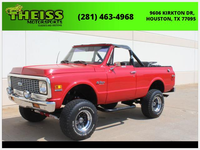 1972 Chevrolet Blazer (CC-1410623) for sale in Houston, Texas