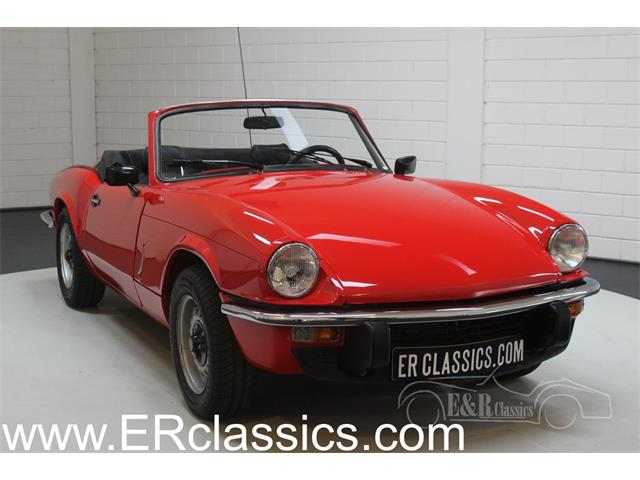 1979 Triumph Spitfire (CC-1416265) for sale in Waalwijk, Noord-Brabant