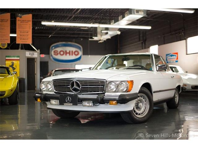 1983 Mercedes-Benz 380SL (CC-1416457) for sale in Cincinnati, Ohio