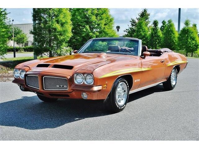 1971 Pontiac GTO (CC-1416623) for sale in Greensboro, North Carolina