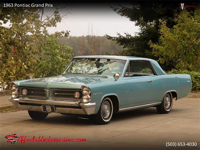 1963 Pontiac Grand Prix (CC-1416712) for sale in Gladstone, Oregon