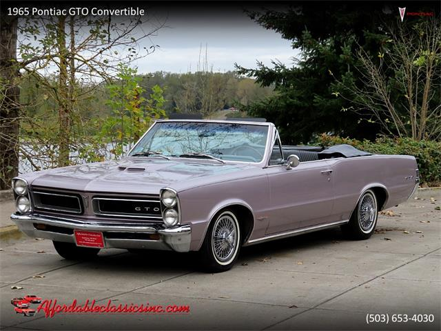 1965 Pontiac GTO (CC-1416745) for sale in Gladstone, Oregon