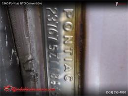 1965 Pontiac GTO (CC-1416745) for sale in Gladstone, Oregon