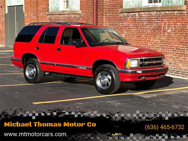 1996 Chevrolet Blazer (CC-1416785) for sale in Saint Charles, Missouri