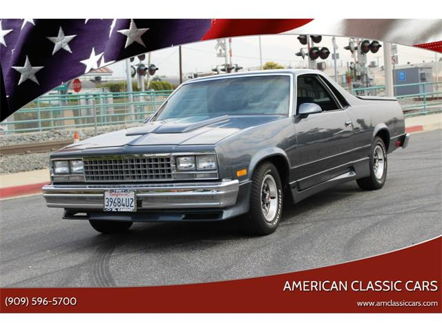 1987 Chevrolet El Camino (CC-1416890) for sale in La Verne, California