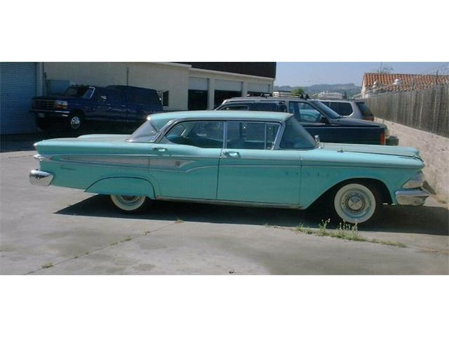 1959 Edsel Sedan (CC-1416933) for sale in Cadillac, Michigan