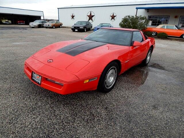 1987 Chevrolet Corvette (CC-1416937) for sale in Wichita Falls, Texas