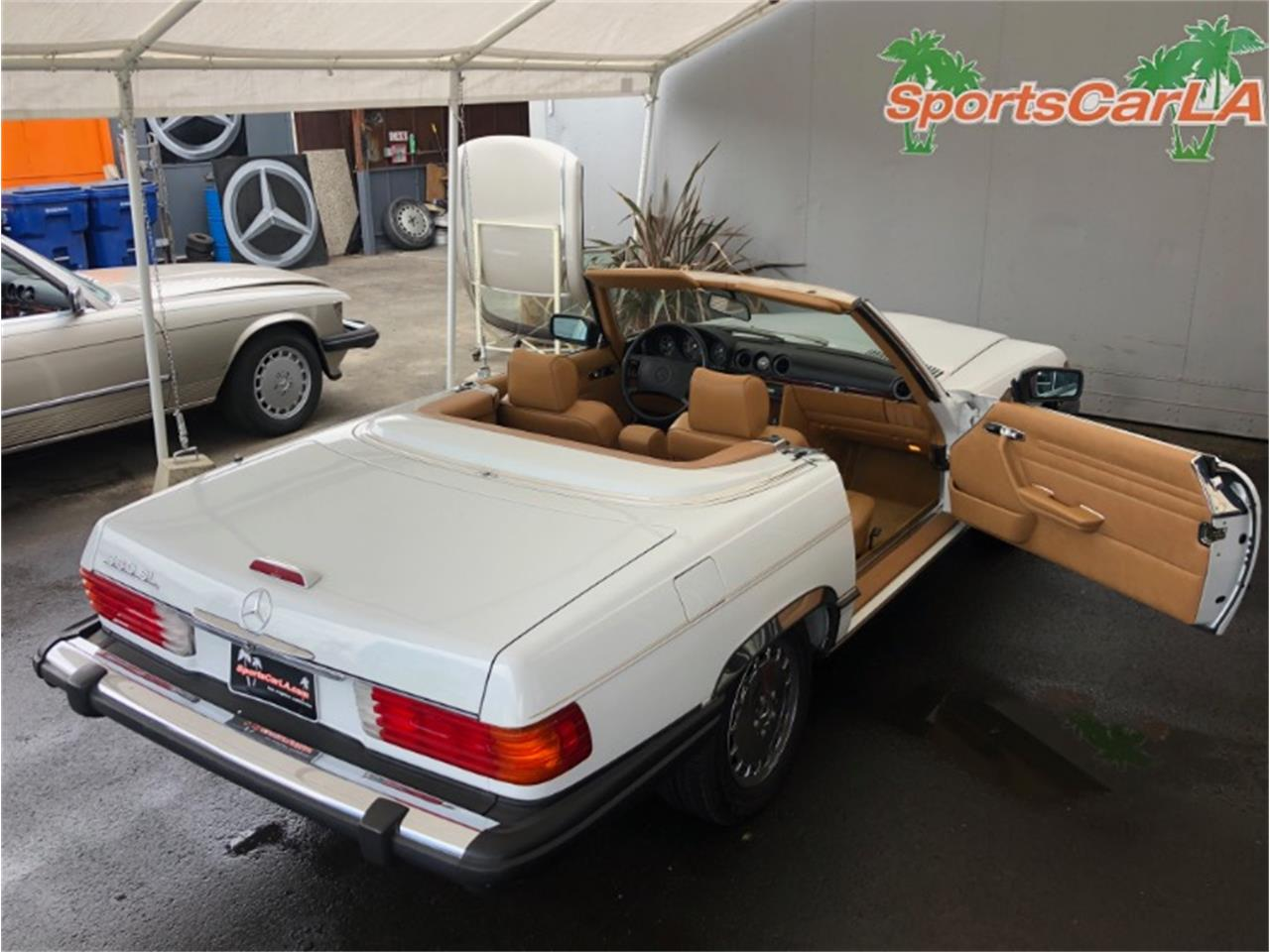 1988 Mercedes-Benz 560 (CC-1417007) for sale in Los Angeles, California