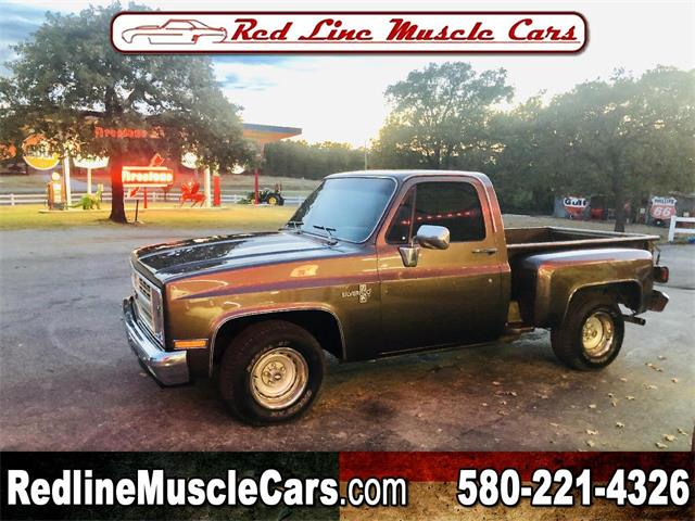 1984 Chevrolet C/K 10 (CC-1417016) for sale in Wilson, Oklahoma