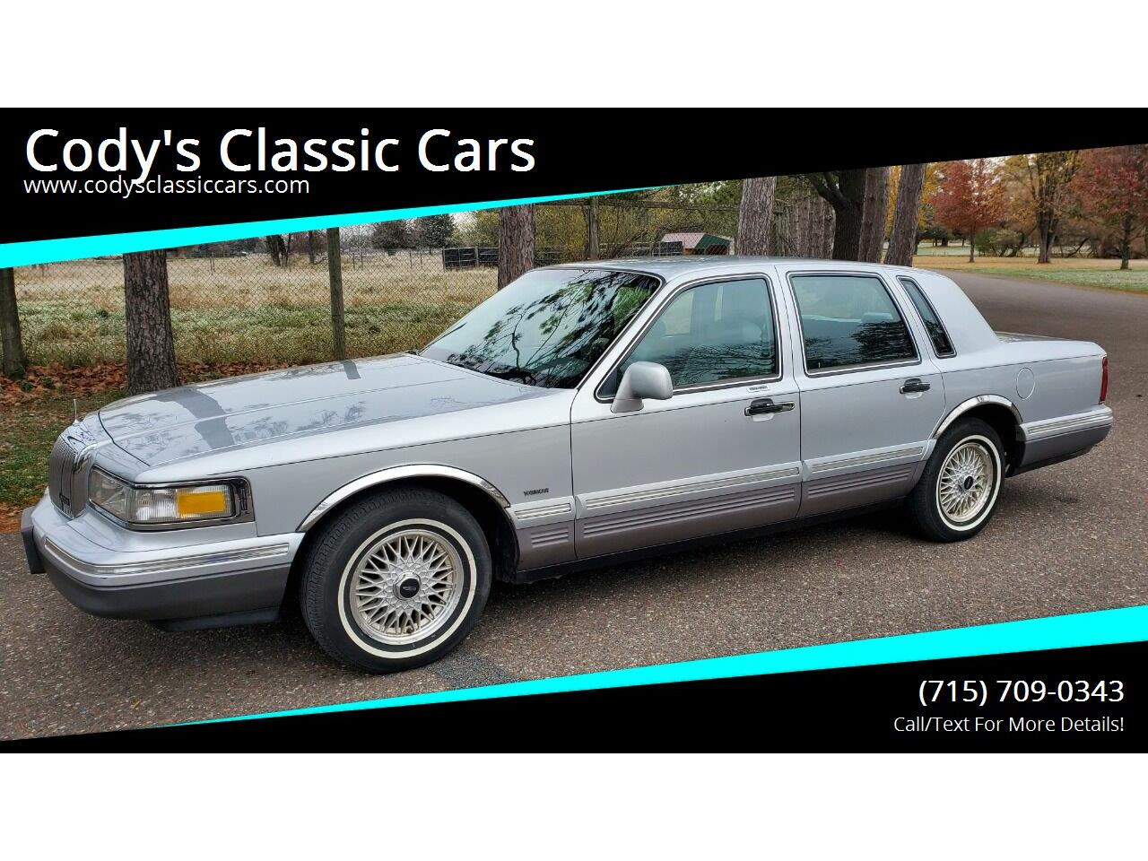 1996 Lincoln Town Car (CC-1417078) for sale in Stanley, Wisconsin