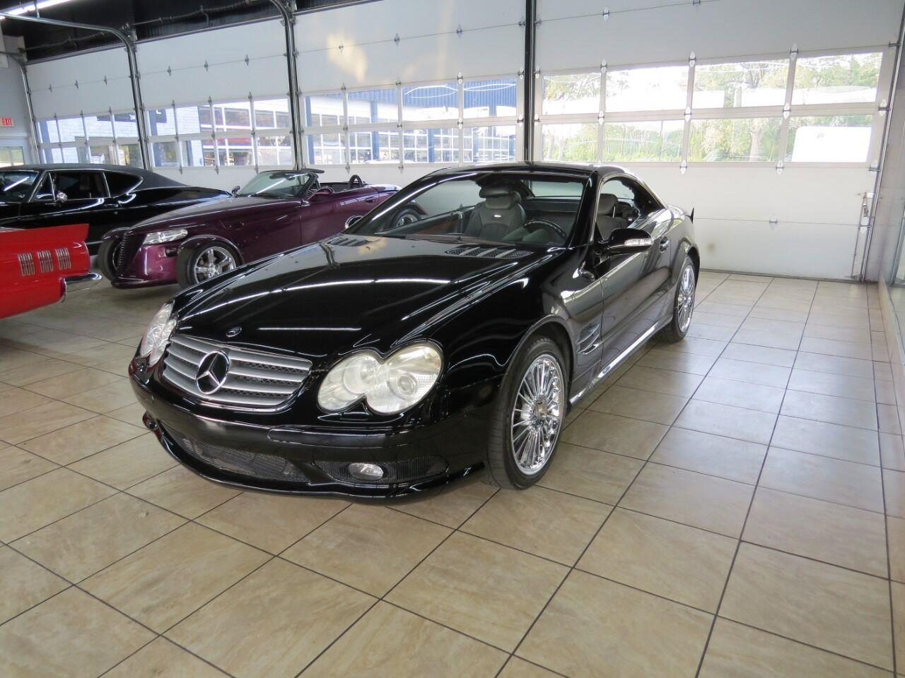 2003 Mercedes-Benz SL-Class (CC-1417129) for sale in St. Charles, Illinois