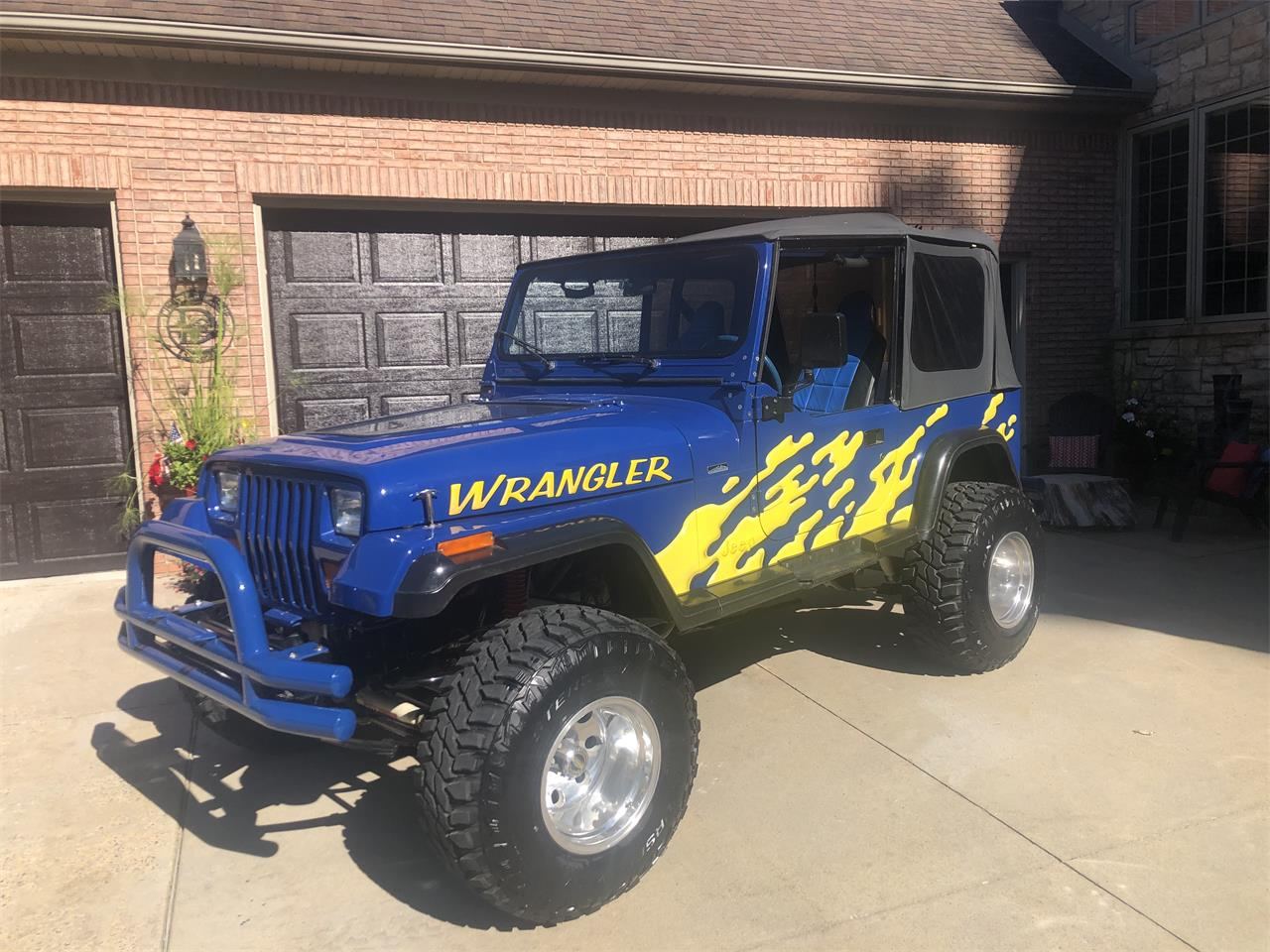1988 Jeep Wrangler (CC-1410715) for sale in Linden, Michigan