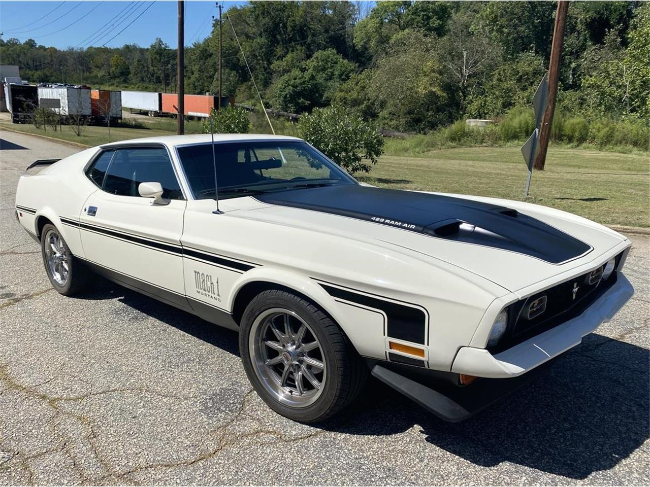 1972 Ford Mustang Mach 1 (CC-1417189) for sale in Greenville , South Carolina