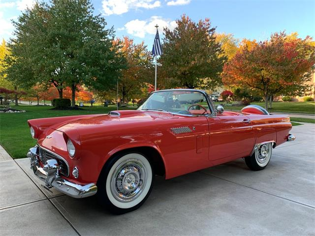 1956 Ford Thunderbird (CC-1417229) for sale in North Royalton, Ohio