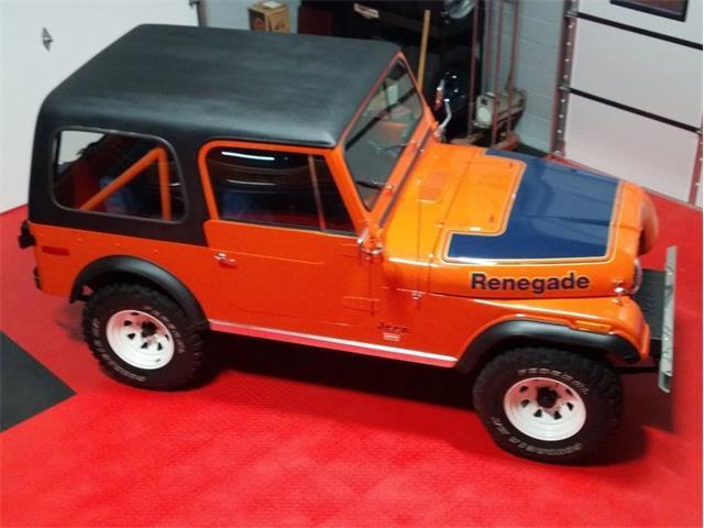 1978 Jeep CJ (CC-1417261) for sale in Greensboro, North Carolina