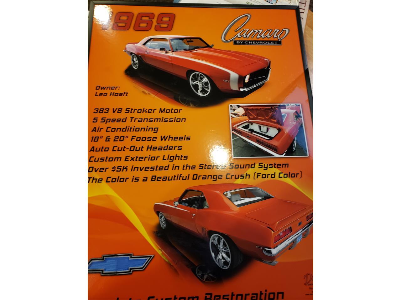 1969 Chevrolet Camaro (CC-1417413) for sale in Estacada, Oregon