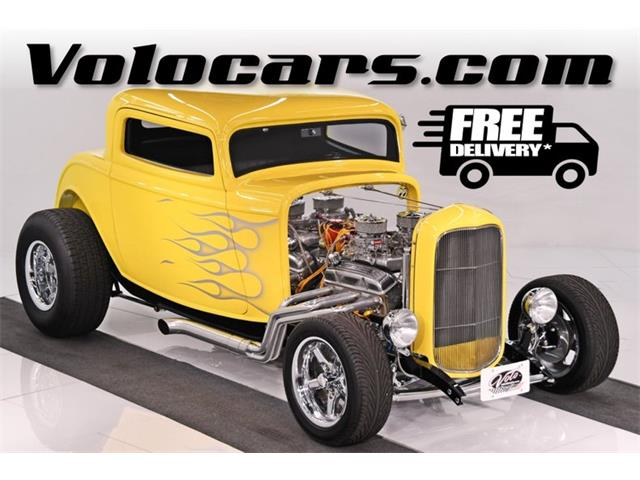 1932 Ford 3-Window Coupe (CC-1417523) for sale in Volo, Illinois