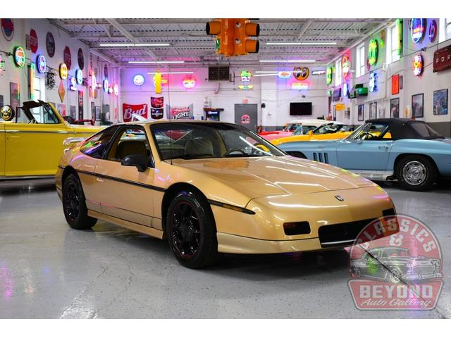 1987 Pontiac Fiero (CC-1417569) for sale in Wayne, Michigan