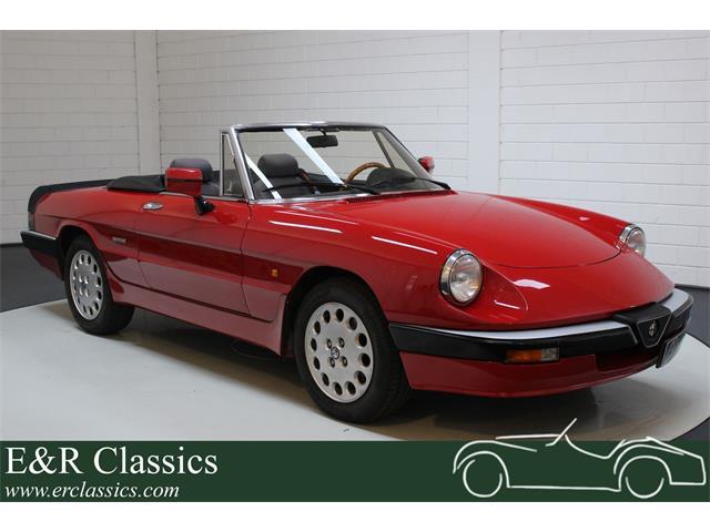 1987 Alfa Romeo Spider (CC-1417672) for sale in Waalwijk, Noord Brabant