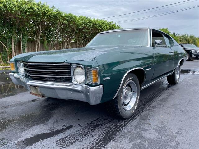 1972 Chevrolet Chevelle Malibu (CC-1417708) for sale in Pompano Beach, Florida