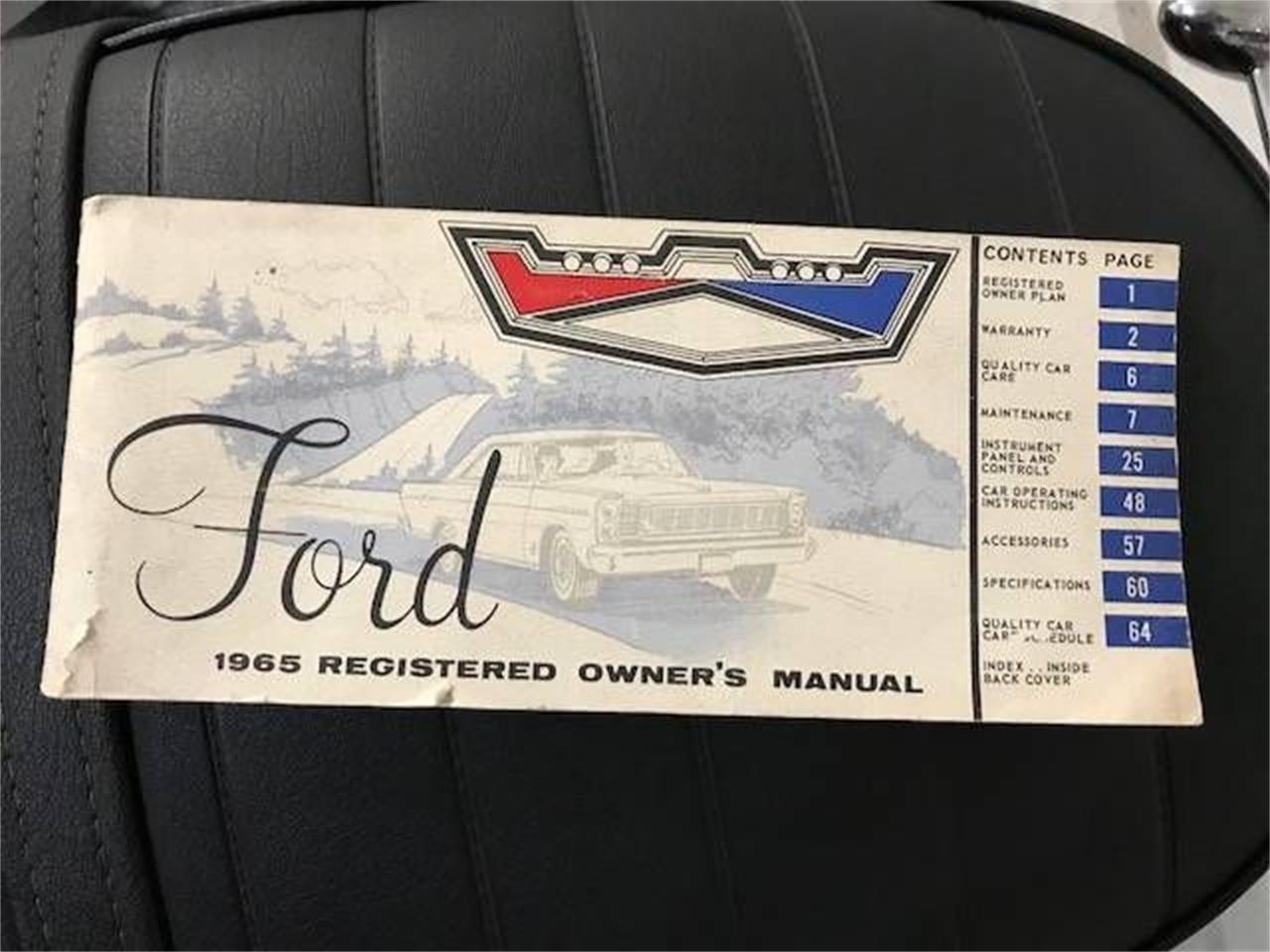 1965 Ford Galaxie 500 (CC-1417903) for sale in Cadillac, Michigan