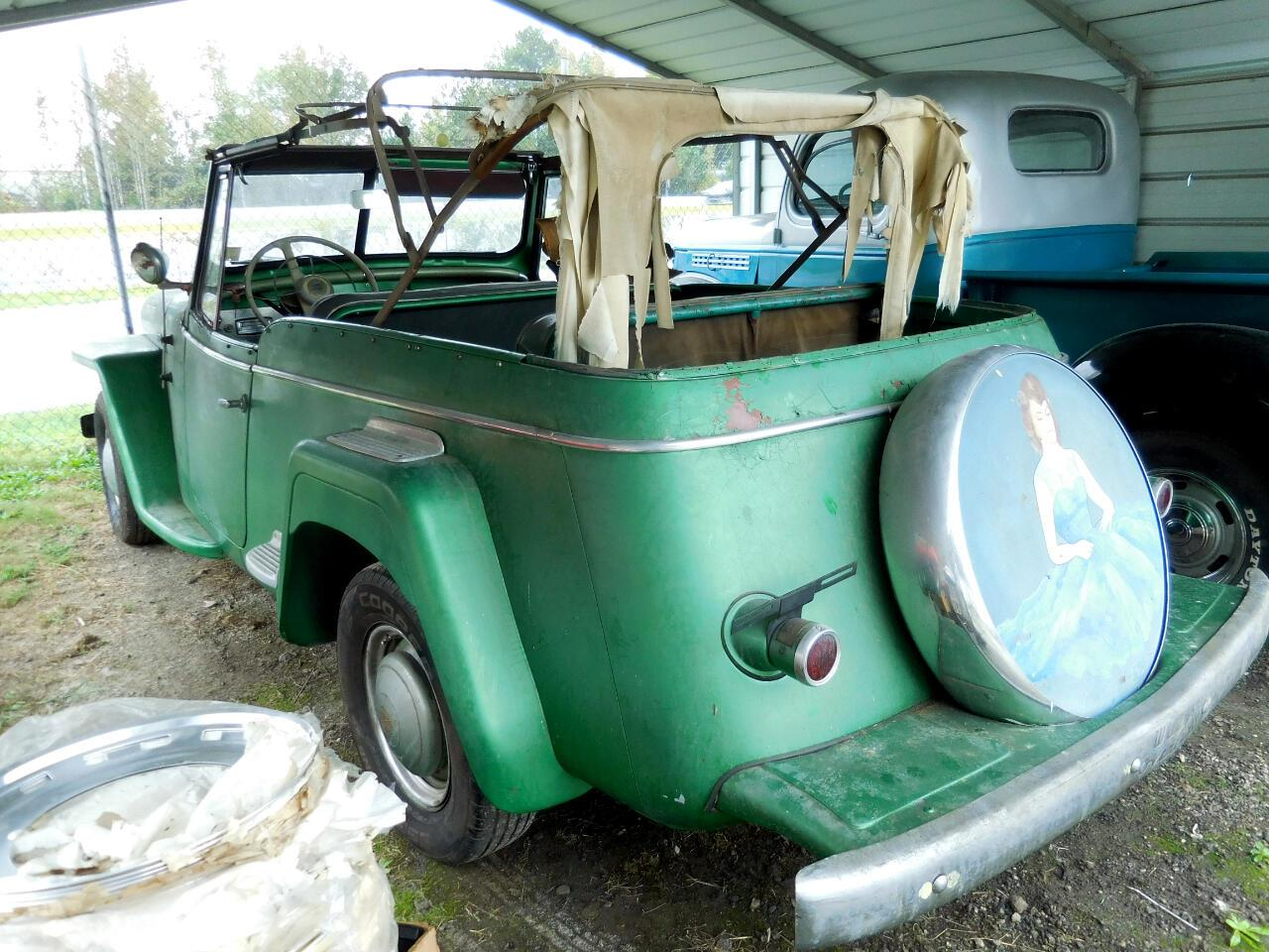 1949 Willys Jeepster (CC-1417928) for sale in Gray Court, South Carolina