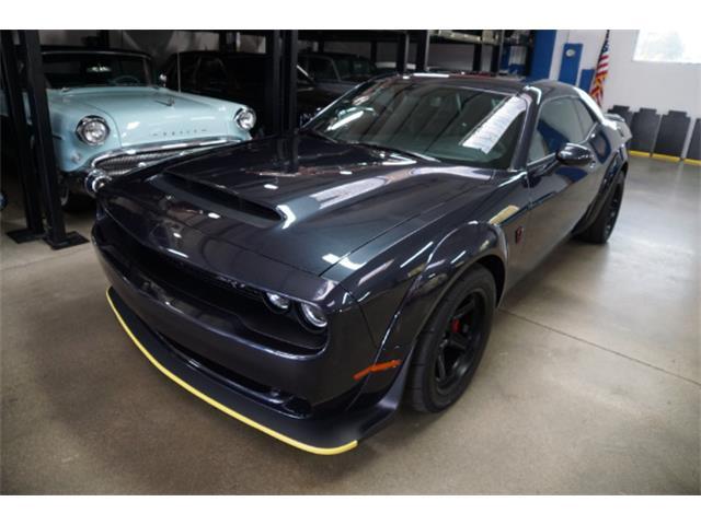 2018 Dodge Challenger SRT