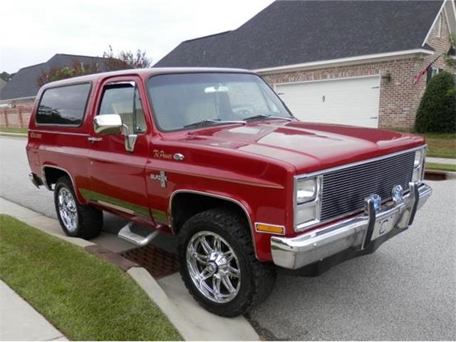 1983 Chevrolet Blazer (CC-1418097) for sale in Florence, South Carolina