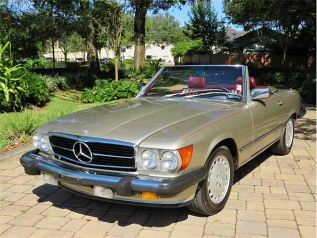 1989 Mercedes-Benz 560SL (CC-1418239) for sale in Lakeland, Florida