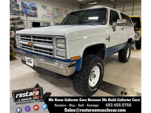 1988 Chevrolet Blazer (CC-1418312) for sale in Lincoln, Nebraska