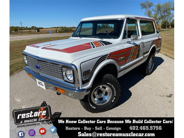 1972 Chevrolet Blazer (CC-1418316) for sale in Lincoln, Nebraska