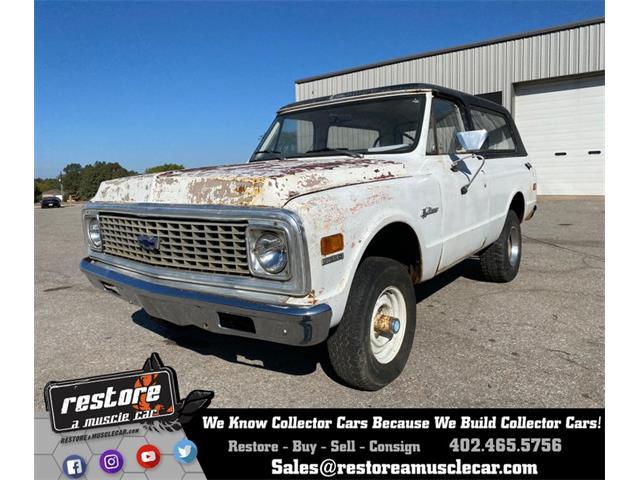 1972 Chevrolet Blazer (CC-1418324) for sale in Lincoln, Nebraska