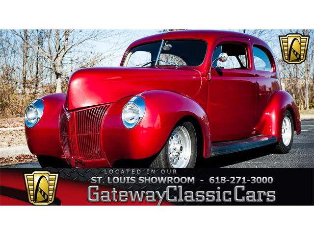1940 Ford Tudor (CC-1418361) for sale in O'Fallon, Illinois