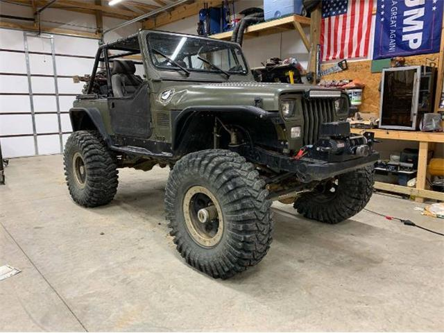 1987 Jeep Wrangler (CC-1418513) for sale in Cadillac, Michigan