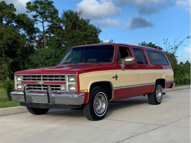 1986 Chevrolet Suburban (CC-1418560) for sale in Punta Gorda, Florida
