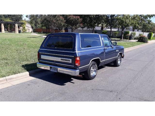 1988 Dodge Ramcharger (CC-1410862) for sale in Cadillac, Michigan