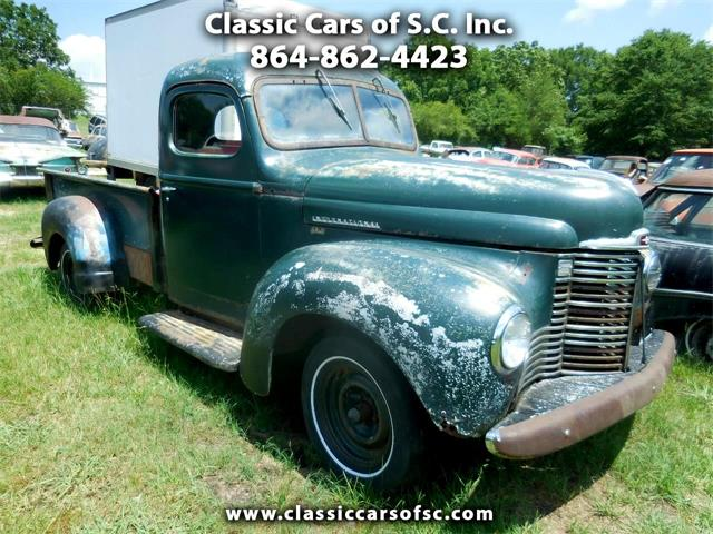 1947 International KB1 (CC-1410868) for sale in Gray Court, South Carolina