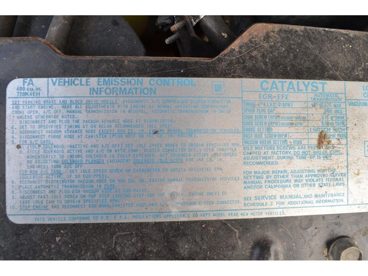 1977 Pontiac Grand Prix (CC-1418945) for sale in Ramsey, Minnesota
