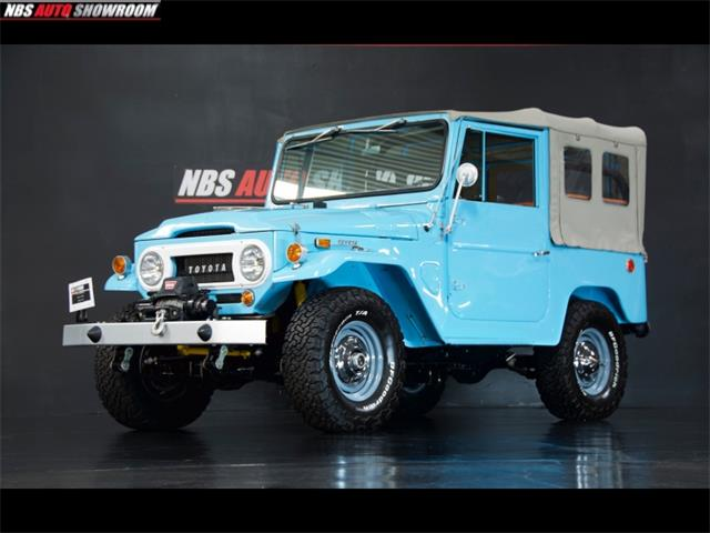 1967 Toyota Land Cruiser FJ (CC-1418957) for sale in Milpitas, California