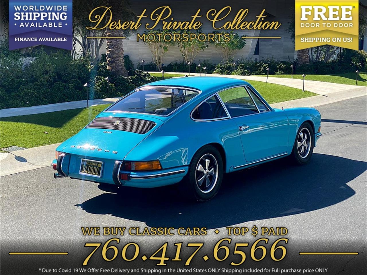 1969 Porsche 912 (CC-1419145) for sale in Palm Desert , California