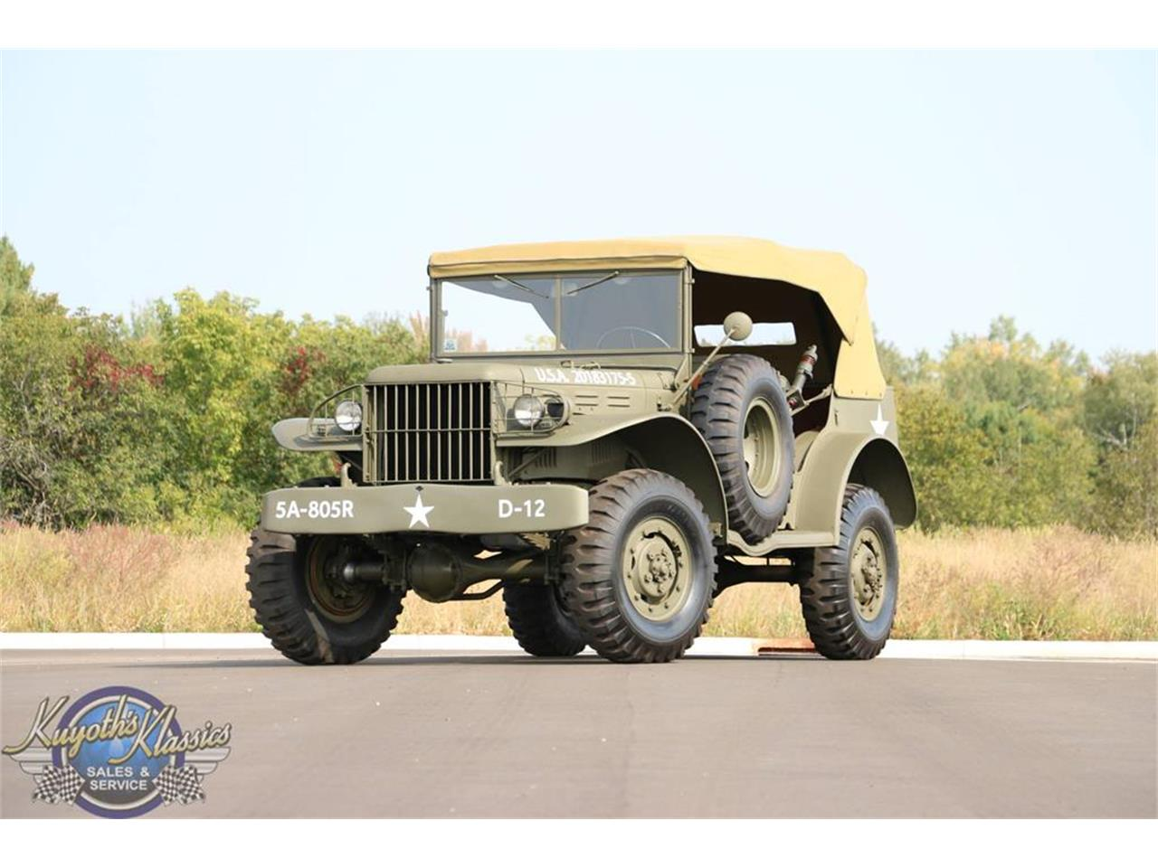 1942 Dodge WC56 (CC-1410918) for sale in Stratford, Wisconsin