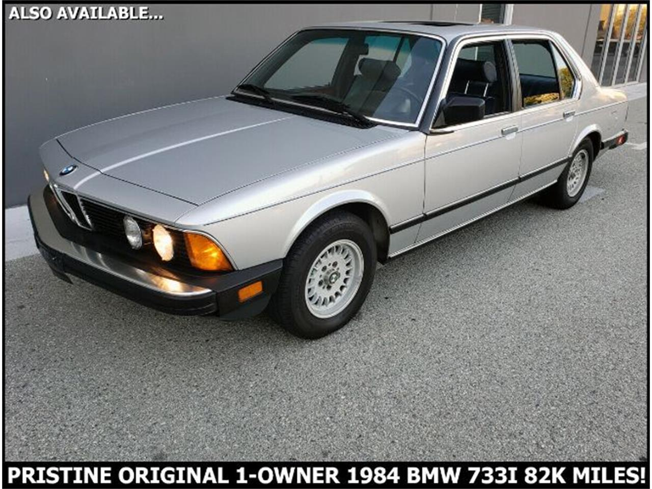 1984 BMW 7 Series (CC-1419299) for sale in Cadillac, Michigan