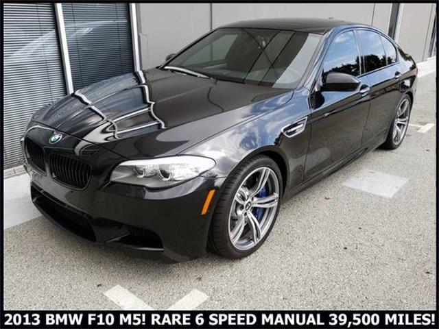 2013 BMW M5 (CC-1419317) for sale in Cadillac, Michigan